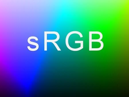 Настройка sRGB